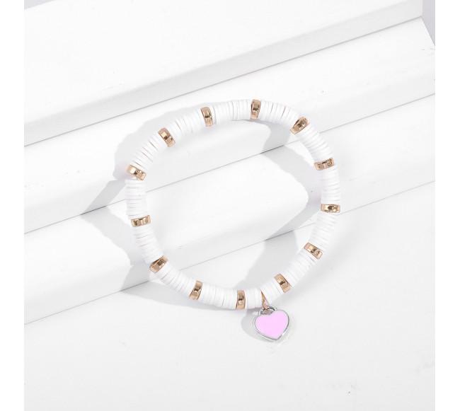 Bracelet à pendentif cœur