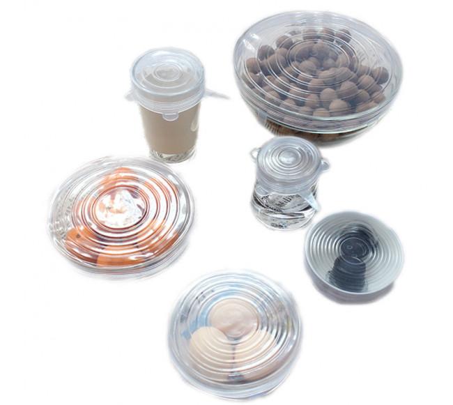 Couvercle aliment en silicone
