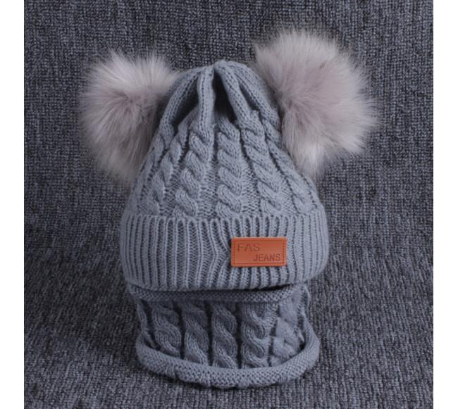 Bonnet en laine pour enfants