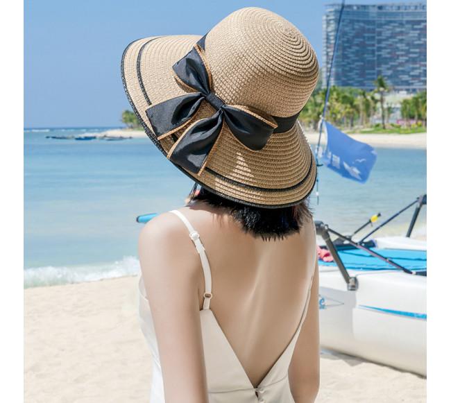 Chapeau de soleil en paille...