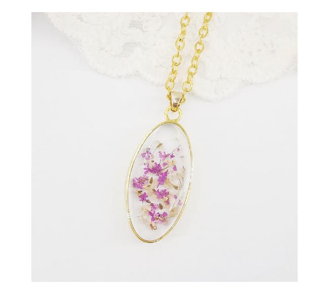 Collier pendentif 'Fleur'