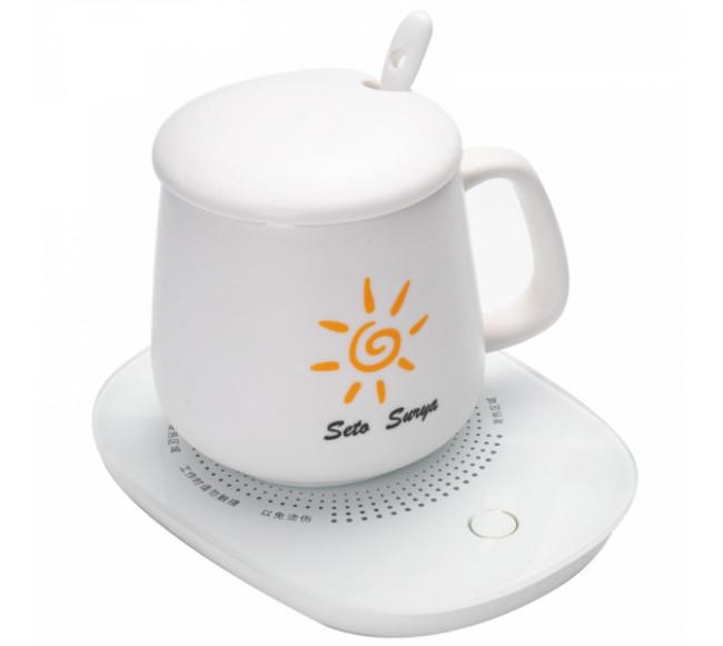 Sous-tasse chauffante à USB