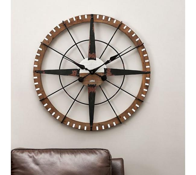 Horloge murale retro Dou...