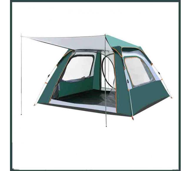 Tente de camping en plein air